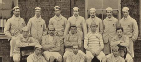 Cambridge University RFC XV in 1890 | © en.wikipedia.org