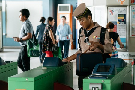 Using Bangkok's Skytrain is easy once you know how