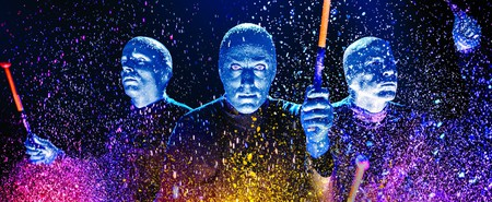 Courtesy of the Blue Man Group