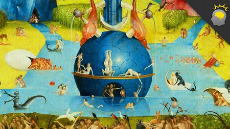 'The Garden of Earthly Delights', c. 1503, central panel detail, Museo Nacional del Prado, Madrid.