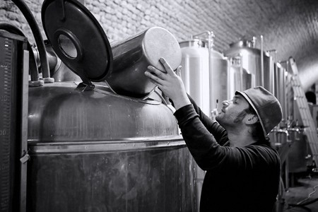 Kazematten brewery offers a look into their day-to-day brewery process and unique location every Saturday afternoon | Courtesy of Kazematten Brewery