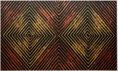 Gordon Bennett, 'Number Nine,' 2008, acrylic paint on linen; Tate and the Museum of Contemporary Art Australia, purchased jointly with funds provided by the Qantas Foundation 2016, image courtesy Museum of Contemporary Art Australia and Milani Gallery, Brisbane © The Estate of Gordon Bennett, 2016, photograph by Carl Warner | Courtesy MCA
