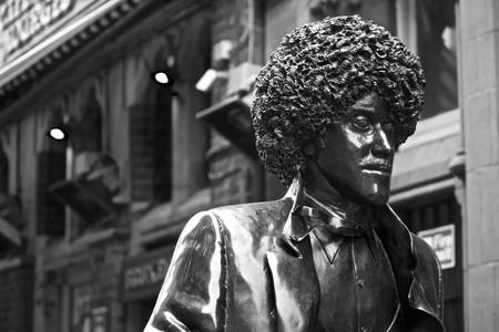 Phil Lynott Statue, Dublin | ©Tristan Reville/Flickr
