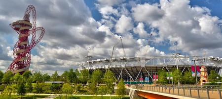 Arcelormittal Orbit and Olympic Stadium, Queen Elizabeth Olympic Park|©Aleem Yousaf/Wikicommons