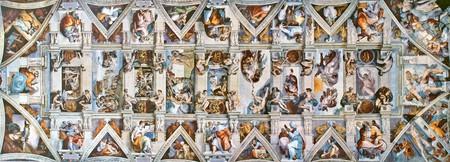 Sistine Chapel ceiling | © WikiCommons