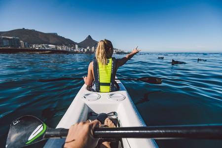 Kayaking with Atlantic Outlook | © Ben Brown / Atlantic Outlook