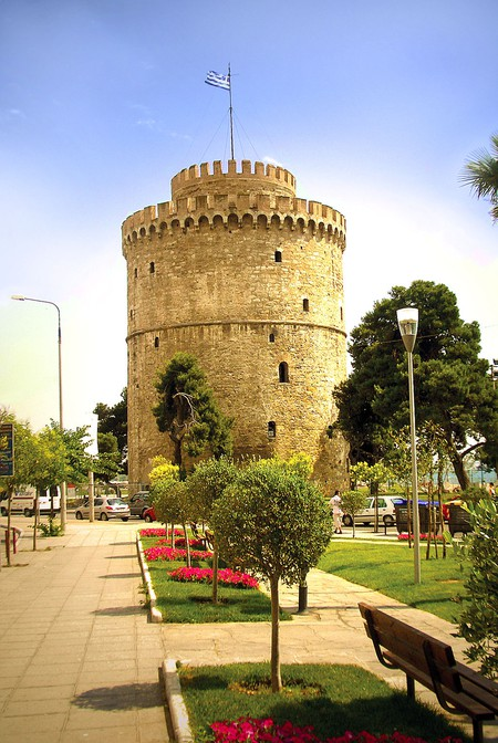 The White Tower, Thessaloniki | © Ωριγένης / WikiCommons