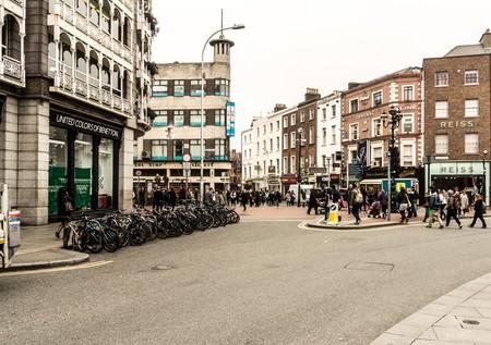 Grafton Street shopping district in Dublin | ©William Murphy/Flickr