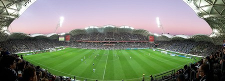 2015 A-League Grand Final AAMI Park panorama | ©Paladisious/WikimediaCommons