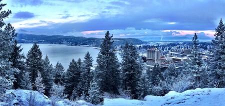 Tubbs Hill - Coeur d Alene winter | © D.Taylor in Idaho/Flickr