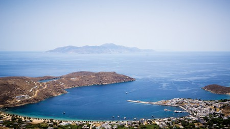 View of Livadi Harbour from Serifos Town | © Chris Brooks/Flickr
