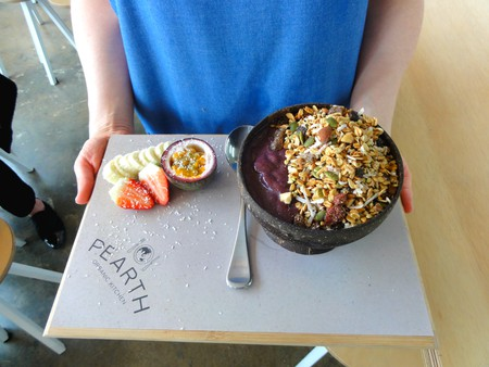 Acai bowl  | Courtesy of Pearth Organic Kitchen