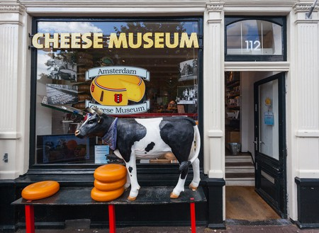 Entrance to Amsterdam's Cheese Museum   © Ivica Drusany/Shutterstock