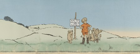 Winnie-the-Pooh chapter 'Christopher Robin leads an expedition'   © DcoetzeeBot / WikiCommons