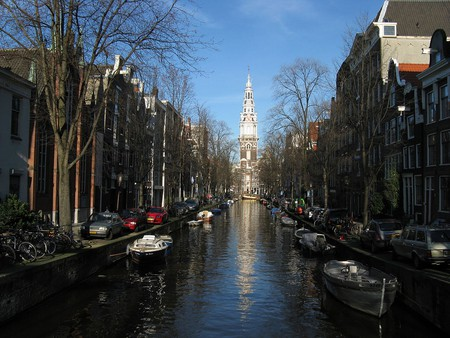 De Zuiderkerk's steeple | ©Dohduhdah/WikiCommons
