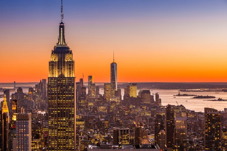 Winter sunset in New York City | © Anthony Quintano/Flickr