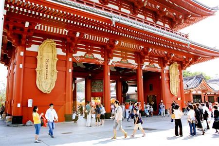 Hozomon at Senso-ji Temple in Asakusa   © Andrea Schaffer/Flickr