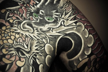 Dragon tattoo © mike/Flickr