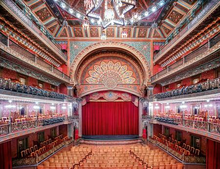 Candida Höfer, Teatro Juárez Guanajuato I 2015 |Courtesy of Galería OMR