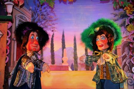 A performance at the Marionetttes du Champ de Mars │ Courtesy of the Marionetttes du Champ de Mars