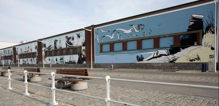 Follow Brussels' trail of comic strip murals