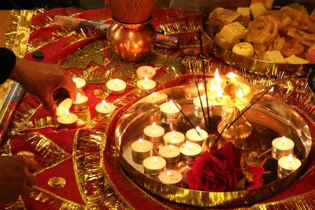 Diwali decorations  © San Sharma/Flickr