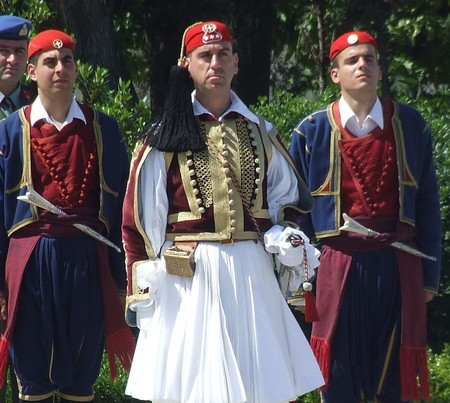 Greek Presidential Guard officer, Athens | © Robin/WikiCommons