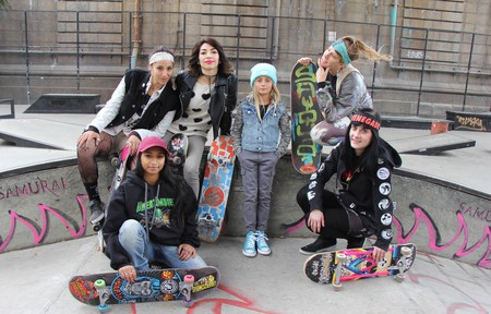 More and more girls and women are skateboarding in recent years   Courtesy of Tracey Herishen