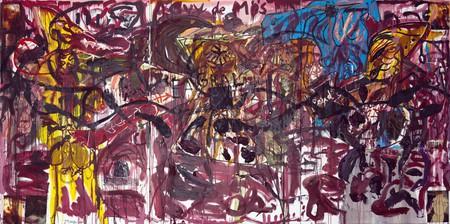 'Der Gelbe Baron' (Rötlich), Jonathan Meese/Courtesy of Elgiz Museum
