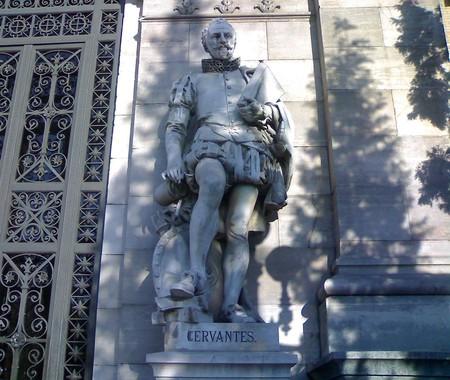 Miguel de Cervantes at the National Library | ©ÁWá