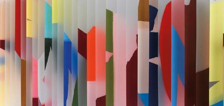 Polypropylene Installation At Britain Creates 2012: Fashion & Art Collusion | Courtesy Of Jonathan Saunders Studio