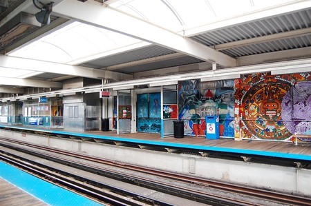 18th Street Pink Line station | © Eric Allix Rogers/WikiCommons