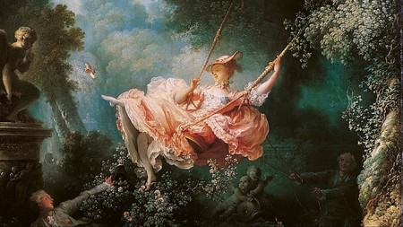 The Happy Accidents of the Swing (1767-1768) by Jean-Honoré Fragonard (1732–1806) │© wartburg.edu