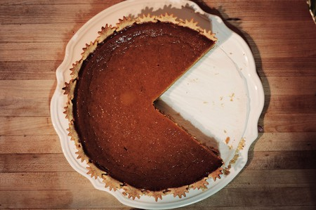 Nom nom nom ... pacman pumpkin pie   © Daniel Catt/Wikicommons