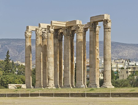Temple of Olympian Zeus in Athens (Attica, Greece) |© A.Savin/WikiCommons