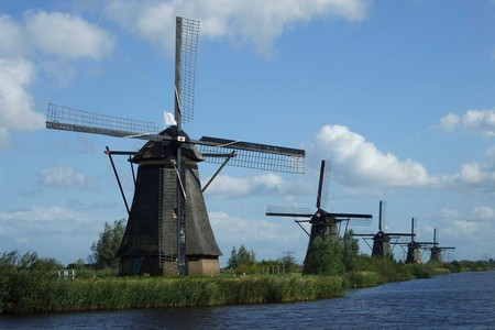 The mill network at Kinderdijk-Elshout | © Lidia Fourdraine/Wiki Commons
