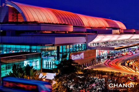 Terminal 1 - Curbside and Facade | Courtesy of Changi Airport