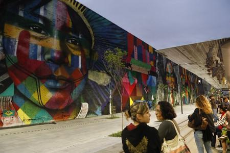 Street mural by Eduardo Kobra © Agência Brasil Fotografias/Flickr