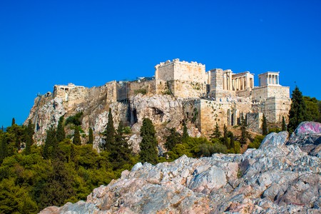 View of the Acropolis from Areopagus, Athens  ©Andy Hay/Flickr