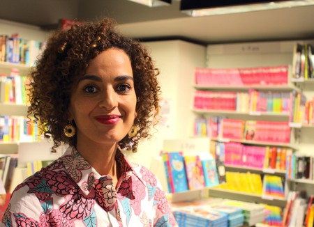 Leïla Slimani, taken at the Librairie Decitre in September 2016 | ©ActuaLitté/Flickr