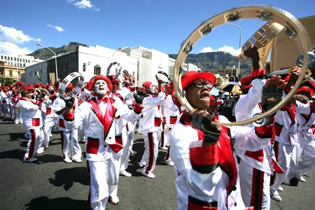 The annual Cape Minstrels parade takes place in early January in the city center © South African Tourism/Flickr