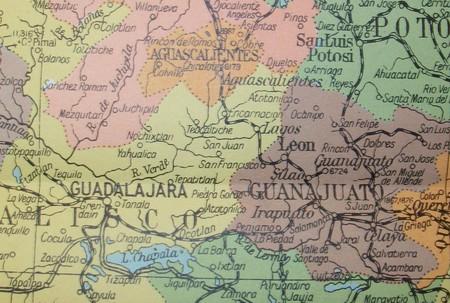 Mexico Map | © David/Flickr