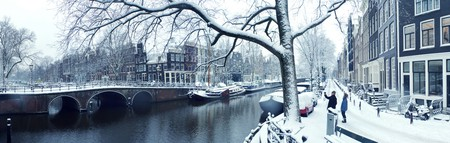 Snowy Amsterdam | © Jannes Glas, Flickr
