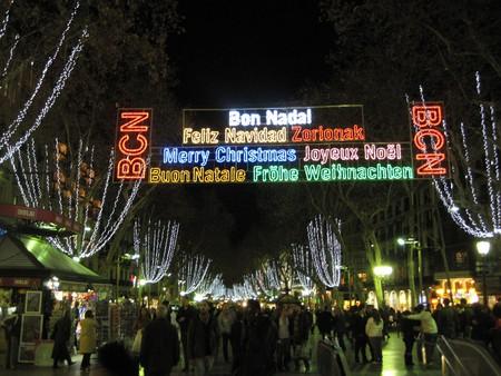 Christmas lights Barcelona |  ©Oh-Barcelona.com