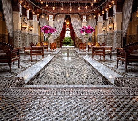 Go for brunch at the Royal Mansour, one of the most beautiful hotels in Marrakech