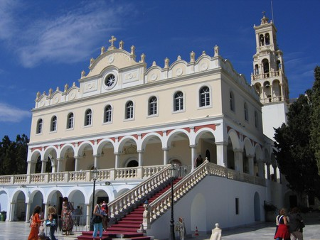 The Church of Panagia in Tinos