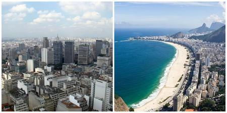 Sao Paulo  © Rodrigo Soldon/WikiCommons   Rio de Janeiro  © bisonlux/WikiCommons