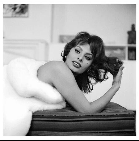 Sophia Loren New York City 1959    © Tony Vaccaro