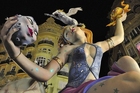 La Fallas, Valencia | © Keith  Ellwood/WikiCommons