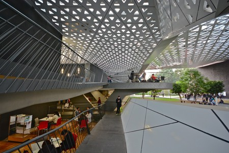 The interior of the Cineteca Nacional | © Alejandro/Flickr